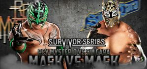 COUSTOM MATCH CARD SURVIVOR SERIES by HeelZigglerEditions