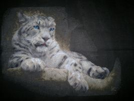 Irbis. Cross Stitch by ouraion