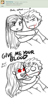 Gimme your blood by Kattin-chan