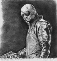 Nick Fury by r0LaNdB2001