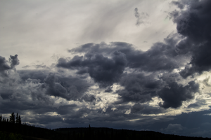 Stormy Clouds by oddmountain