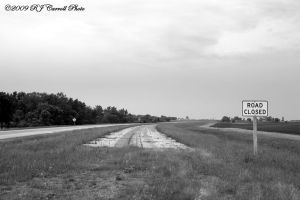 Road Closed I by rjcarroll