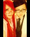 Will and Grell by NyakuMoi