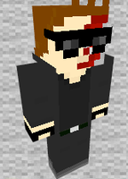 Terminator Minecraft Skin Preview by THATANIMATEDGUY