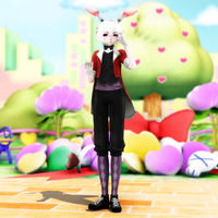 {MMD Newcomer} White Rabbit by EchoStrike7034