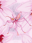 Orchid Mantis by aftertaster7