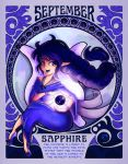 Birthstones Nouveau - September by cute-loot