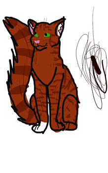 Squirrelflight by Rusted-Wolf