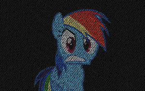 Rainbow Dash 1440*900 by pims1978
