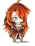 ATNovember-Chibi Mildred by Arkenaya