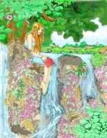 On the Waterfall by HeatherBea