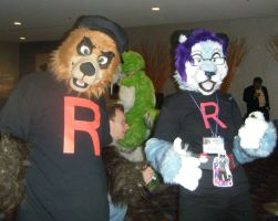 MFF 2010 Team Rocket Furrys by inubasket-savvy