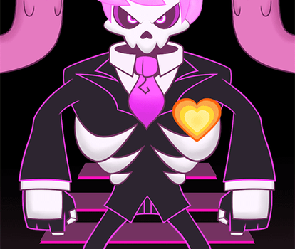 Mystery Skulls G-H-O-S-T by risaXrisa
