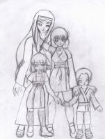 Referencia: Hyuuga Family by ElfyNightmare