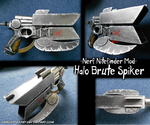 Nerf Mod - Halo Brute Spiker by SamuriFerret