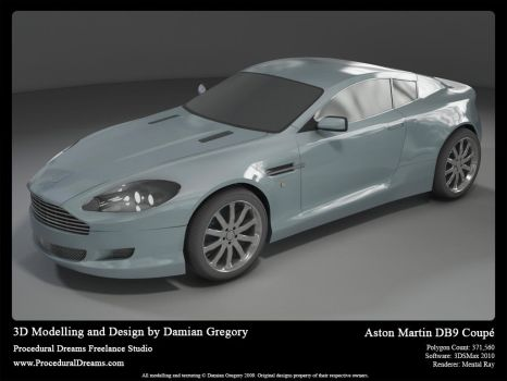 Aston Martin DB9 Coupe Final by heretik66
