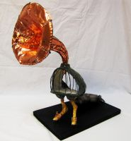 Phonogale Sculpture by decomposerdoll