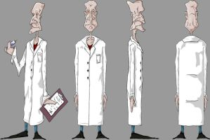 doctor character design by mr-womble