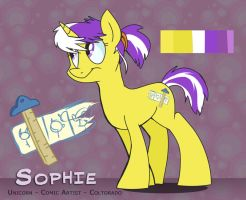 MLP OC - Sophie by sophiecabra