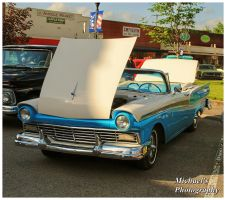 A 1957 Ford Fairlane Convertible by TheMan268