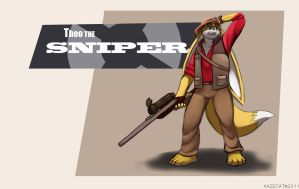 Theo the Sniper by Kazecat