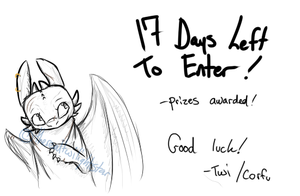 Only 17 Days Left to Enter by therealtwilightstar