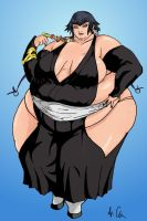 Fat Soi Fon of Bleach by Ray-Norr