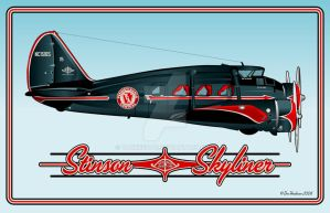 Stinson Skyliner by yankeedog