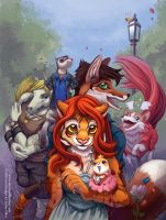 Draw Furries by Quasimanga