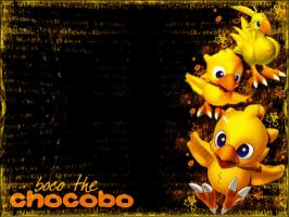 Boco the Chocobo by Aniar