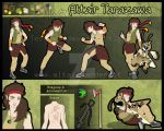 Altair Tarazawa reference sheet by AltairSky