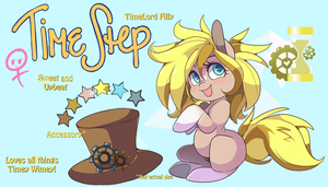 Timestep Foal Reference by LoreHoshiko