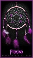Pinkish dreamcatcher by StyxCornix