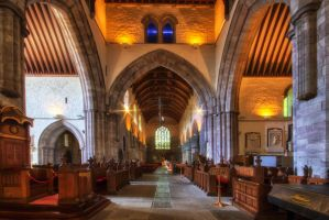 Brecon Cathedral by CharmingPhotography