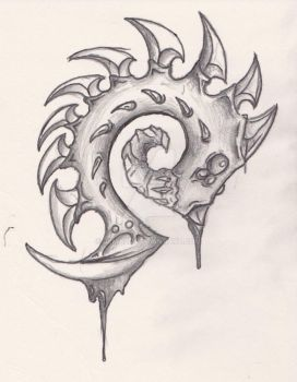 Zerg Tattoo Design by JLMaze