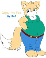 Ziggy fox by KatTheFoxtaur