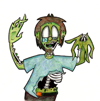Zombie Dude by brothersdude