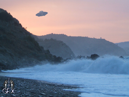 Costal UFO by Vitaloverdose