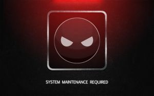 System Maintenance Required by Passager-Noir