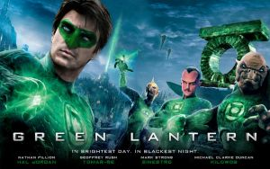 Green Lantern Nathan Fillion by poumap