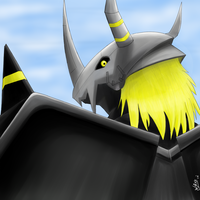 BlackWargreymon by WaChuLeRuXx