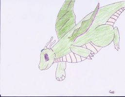 Mirage the Dragonite by P-Stew