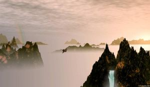 Over the cloud sea by LeTipple