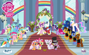 Canterlot Wedding Poster Vector by MLP-Vector-Collabs