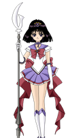 Princess Sailor Saturn by nads6969