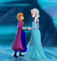 Disney Frozen - I came for you by RodrigoYborra