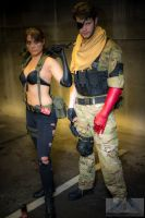 The Phantom Pain - Quiet and Snake by IXISerenityIXI