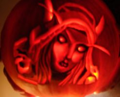 Sylvanas Windpumpkin by FF-Angel