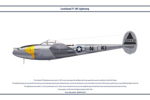 P-38J USAAF 55th FS 1 by WS-Clave