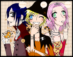 HALLOWeen.NaRuTo - colors by danielly